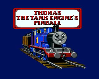 Thomas the Tank Engine and Friends Pinball Amiga Title Screen