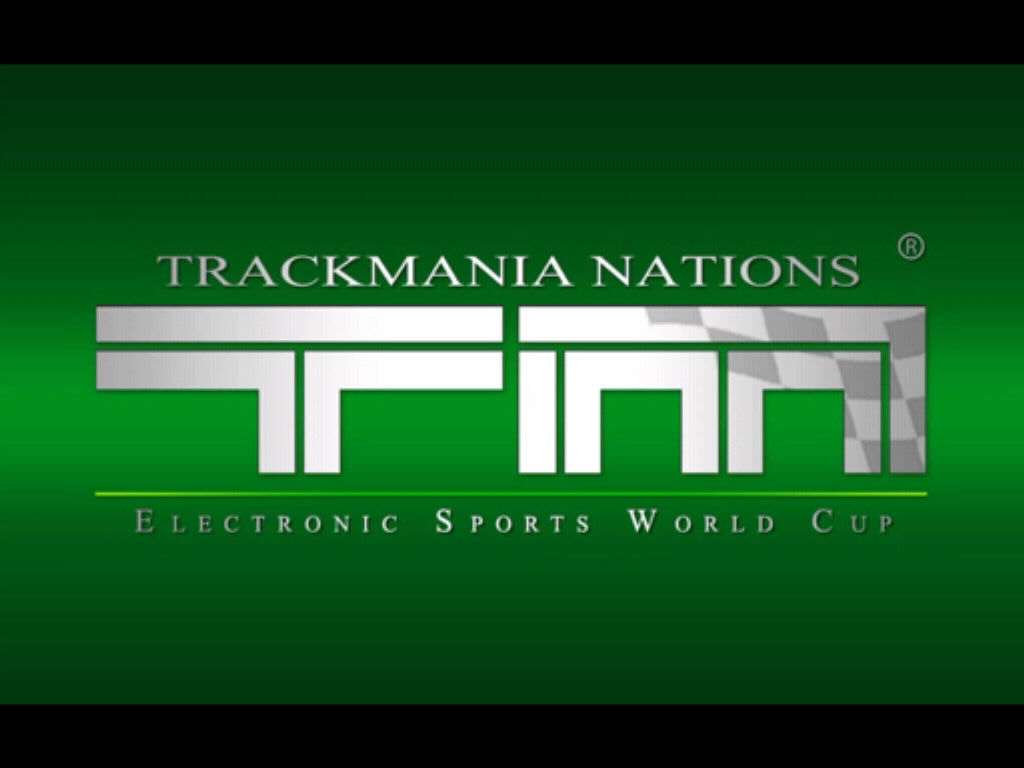TrackMania Nations ESWC Windows Title screen
