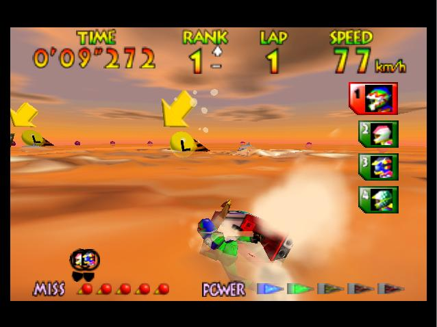 Wave Race 64: Kawasaki Jet Ski Nintendo 64 The Second Race