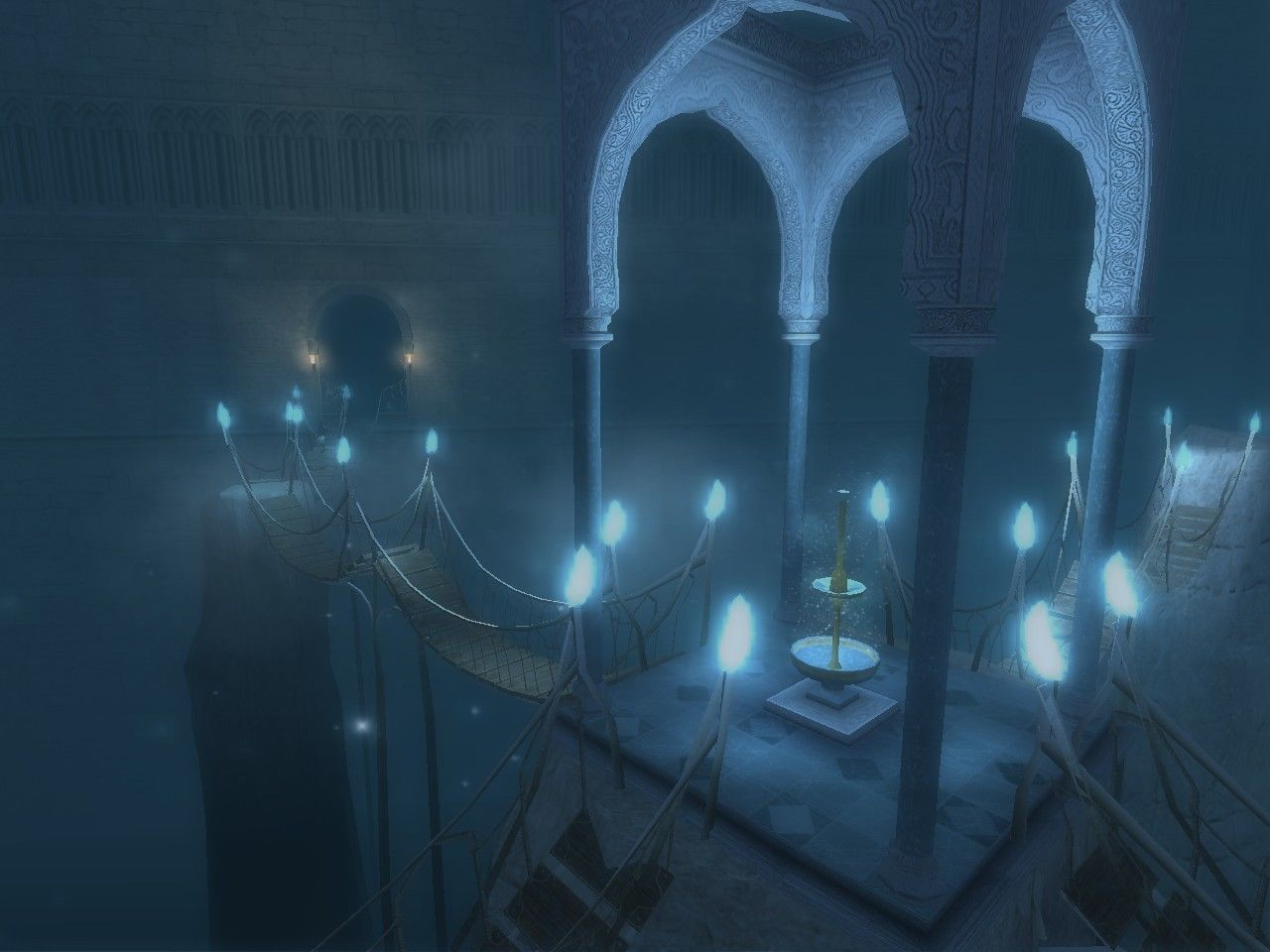 Prince of Persia: The Sands of Time Windows Secret room - you can upgrade your life meter here.