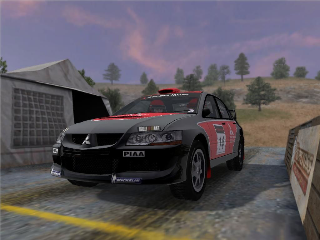 Colin McRae Rally 2005 Windows Mitsubishi Lancer.