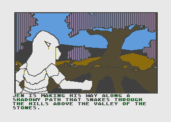 Hi-Res Adventure #6: The Dark Crystal Atari 8-bit There's quite a few paths to follow and locations to visit