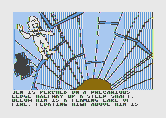 Hi-Res Adventure #6: The Dark Crystal Atari 8-bit Now this is one heck of a predicament...