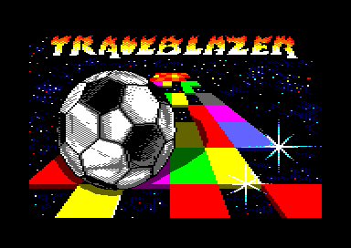 Trailblazer Amstrad CPC Loading screen