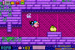 Kirby & The Amazing Mirror Game Boy Advance Bomb ability: Kirby will have an endless supply of bombs to throw at his enemies