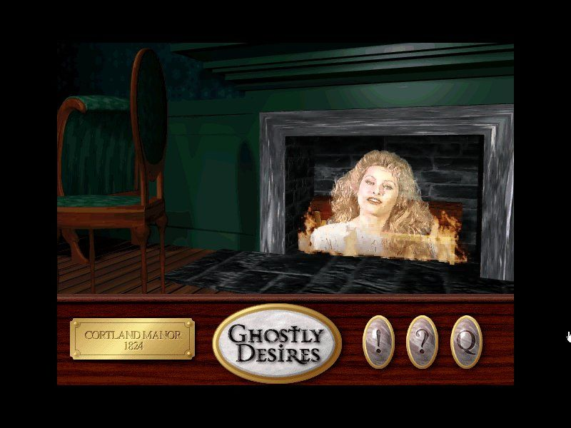 Ghostly Desires Windows Madam's ghost in the firewood