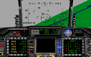 F-16 Combat Pilot Amiga Intercepting three MIGs