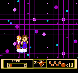 Jackie Chan's Action Kung Fu NES Bonus stages send Jackie to space