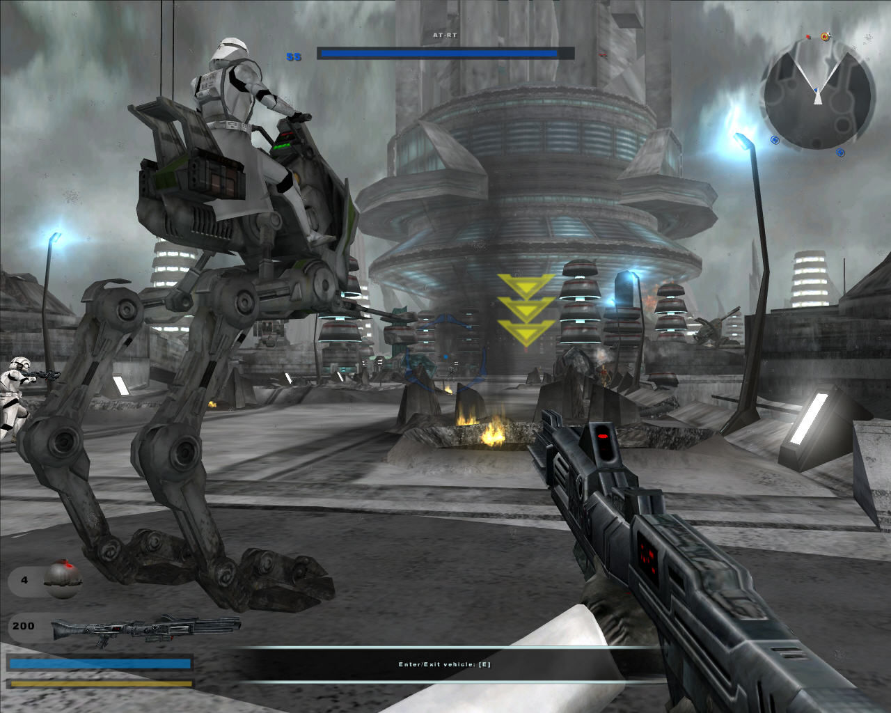 Star Wars: Battlefront II Windows AT-RT Walker. You can control it, if you want to.