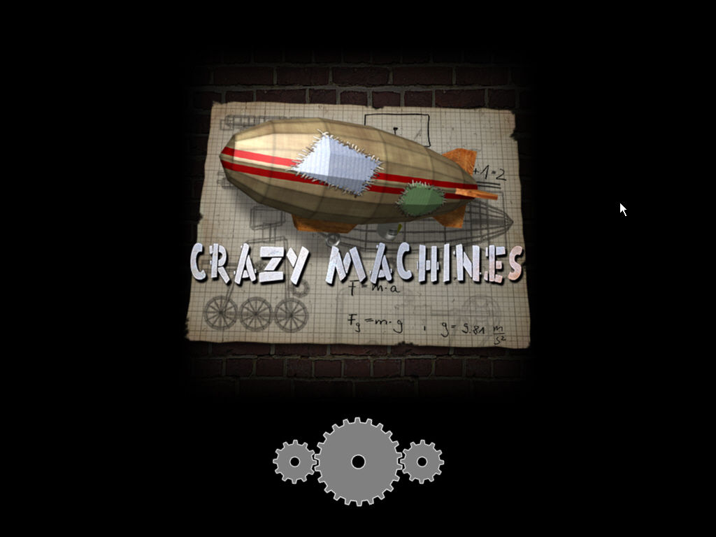 Crazy Machines: The Wacky Contraptions Game Windows Loading the game
