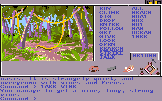 Mindshadow Amiga Found a vine in this jungle