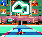 Sonic Drift Game Gear Spring yard course