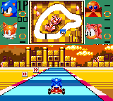 Sonic Drift Game Gear Labyrinth zone