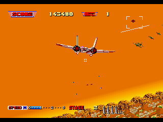 After Burner II SEGA 32X Stage 2