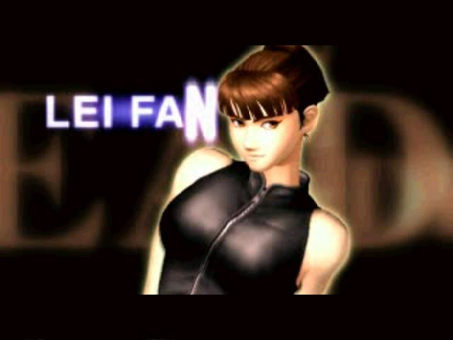 Dead or Alive PlayStation Another girl from the intro: Lei-Fang