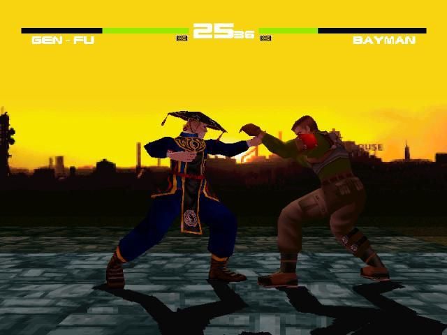 Dead or Alive PlayStation Gen-Fu vs. Bayman
