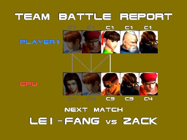 Dead or Alive PlayStation The Team Battle Report