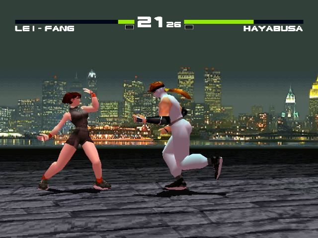 Dead or Alive PlayStation This match is over if Hayabusa hits me now.