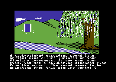 Ultima IV: Quest of the Avatar Commodore 64 Intro - The gate opens
