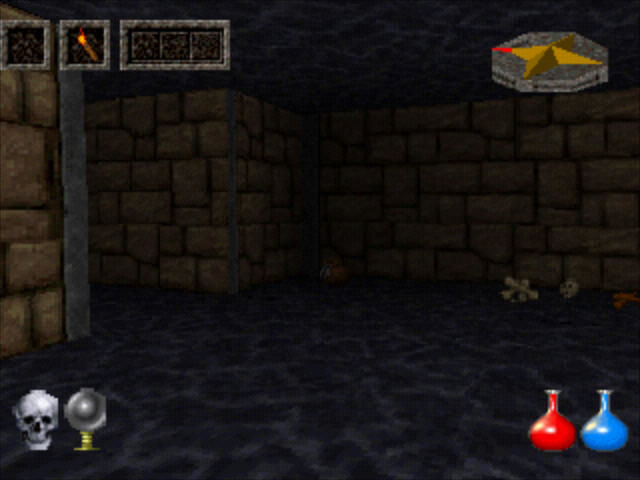 Ultima Underworld: The Stygian Abyss PlayStation Wandering in the abyss.