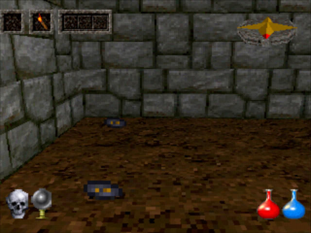 Ultima Underworld: The Stygian Abyss PlayStation Finding my first runestones.