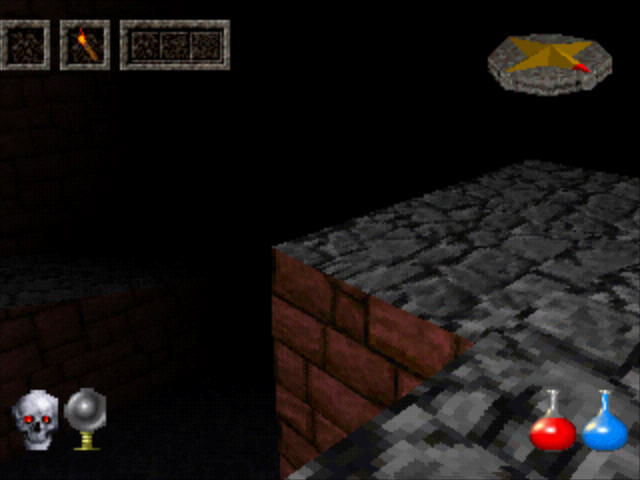Ultima Underworld: The Stygian Abyss PlayStation This looks very deep, falling can be fatal.