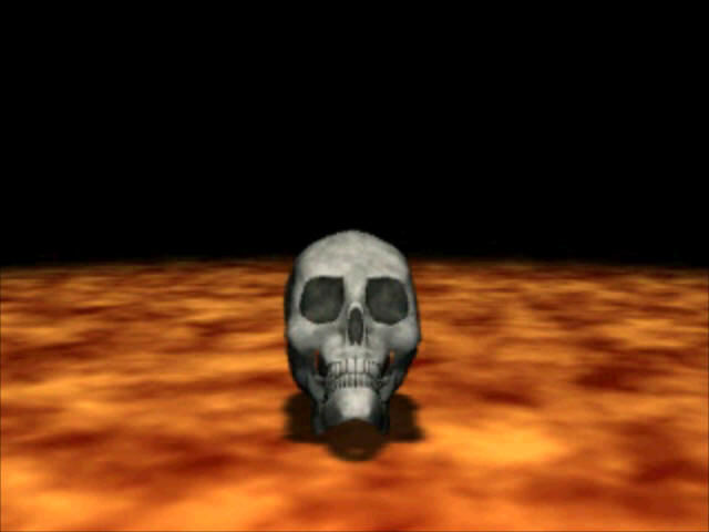 Ultima Underworld: The Stygian Abyss PlayStation Death screen