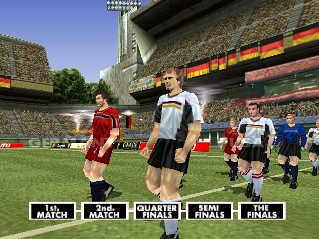 LiberoGrande PlayStation Players entering the field.