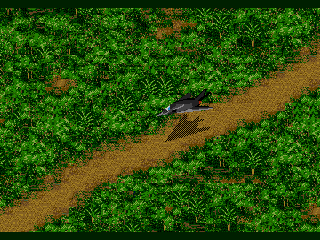 Jungle Strike Genesis Aboard an F-117 Stealth Fighter