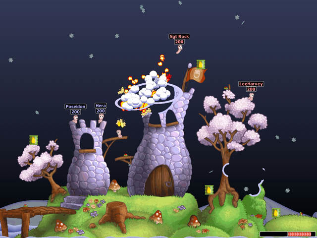 worm world party mobile: