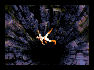 Space Ace SEGA CD Falling down