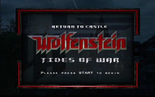 Return to Castle Wolfenstein: Tides of War Xbox Are you ready to take on the Nazis?