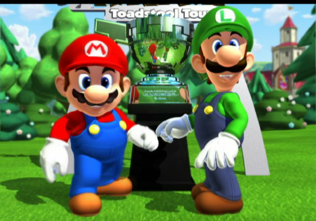 Mario Golf: Toadstool Tour GameCube Part of the introduction sequence