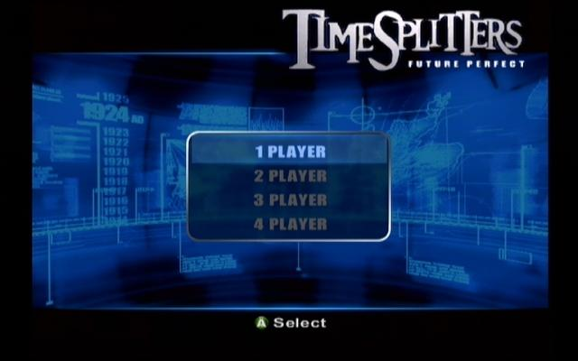 TimeSplitters: Future Perfect Xbox This is where your mission begins!