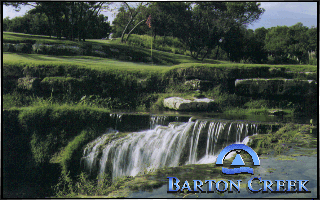 Links: Championship Course - Barton Creek DOS Splash screen (Links MCGA/VGA version)