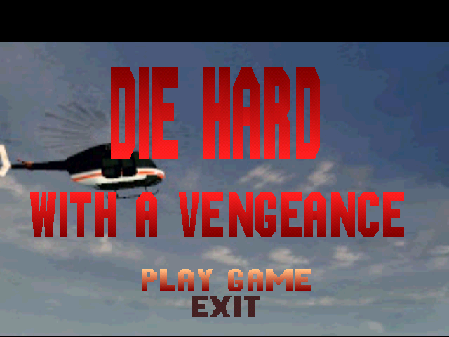 Die Hard Trilogy PlayStation DH3 - Title