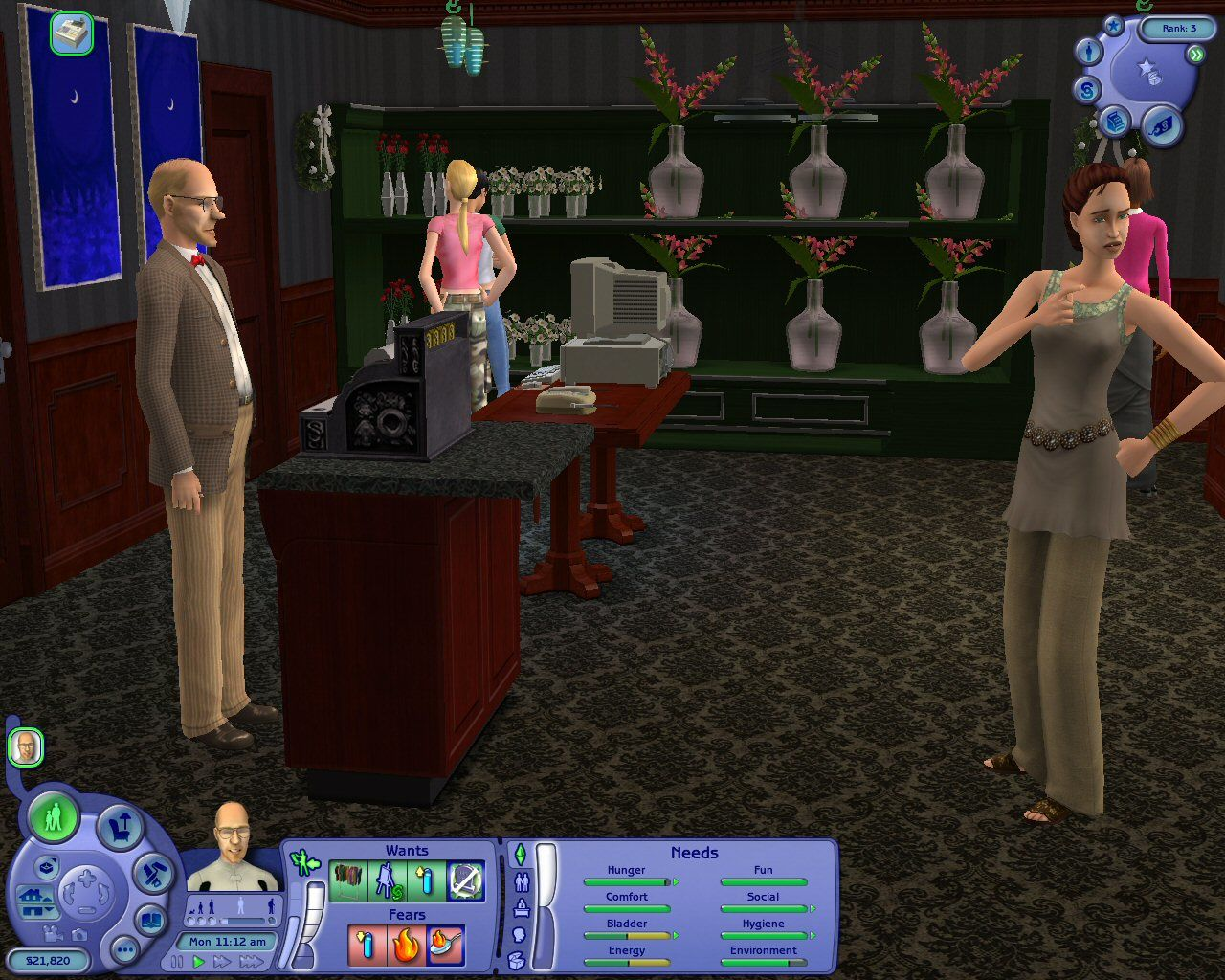 The Sims 2: Open for Business Windows With Open for Business, your Sims can now sell any number of things from home to supplement their existing incomes...