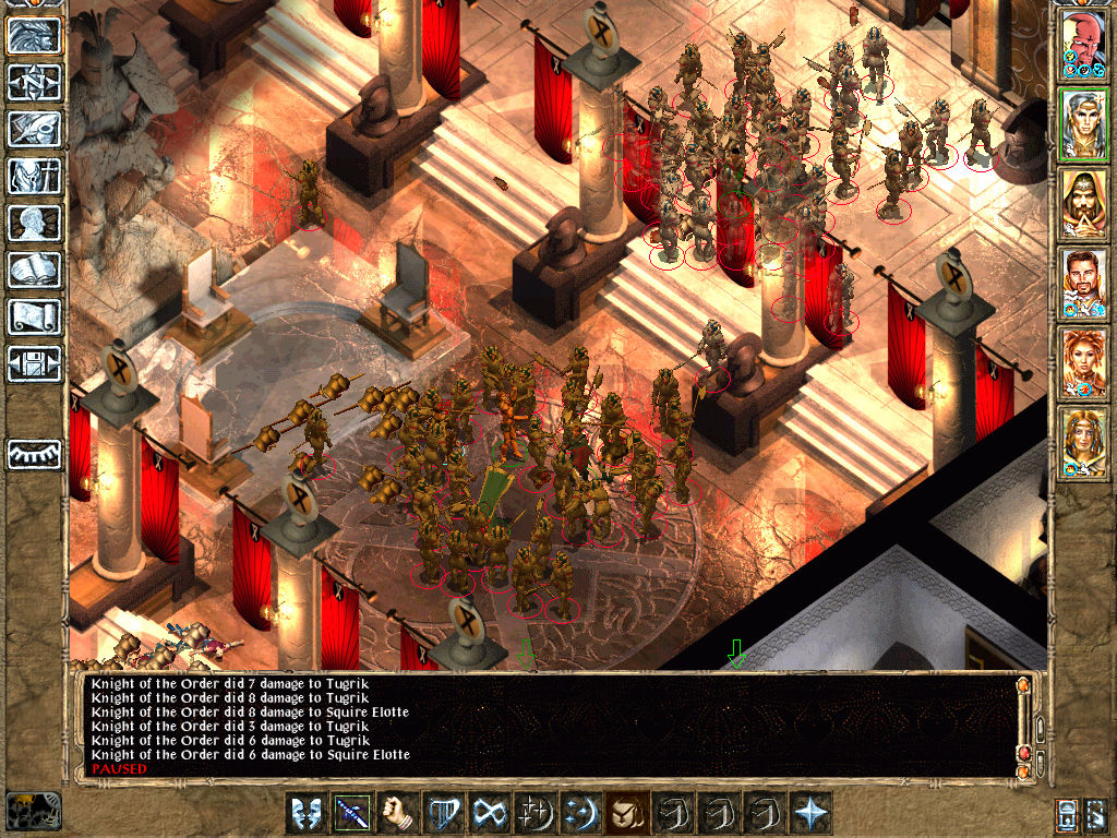 Baldur's Gate II: Shadows of Amn Windows Radiant Hall Massacre