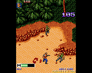 Mercs Amiga Killed a soldier