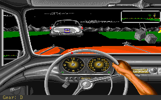 Street Rod Amiga During a race