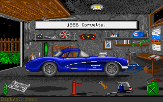 Street Rod Amiga After some races you have enough money for better cars