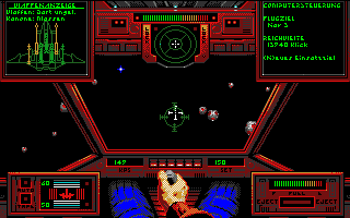 Wing Commander Amiga Into an minefield
