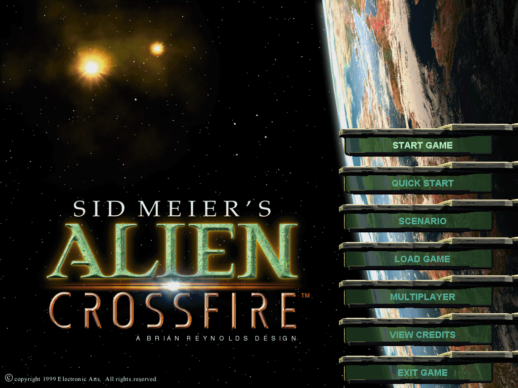 Sid Meier's Alien Crossfire Windows In space, no one can hear you quit