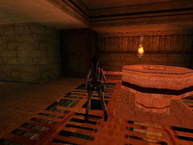 Tomb Raider: The Last Revelation Windows One of many puzzles that you may find.