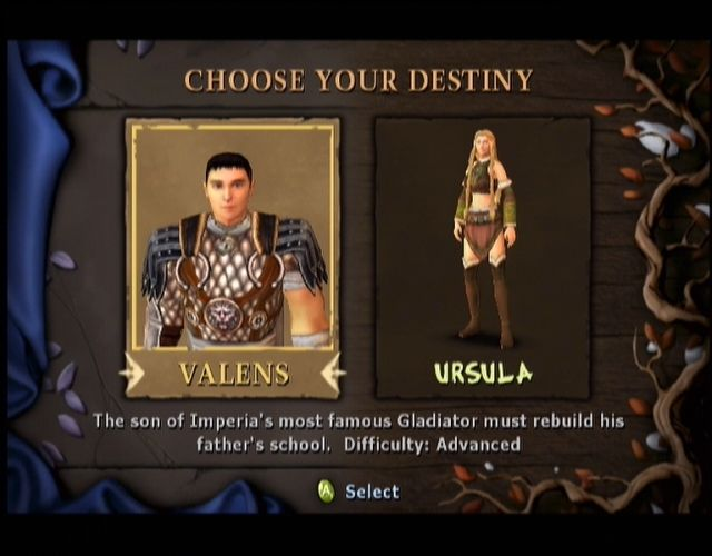 Gladius Xbox Ursula's actual story seems a little bit better than Valens