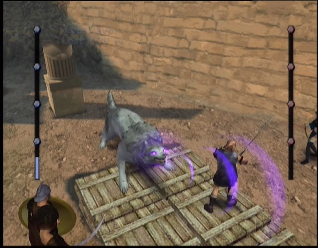 Gladius Xbox This extra large wolf can cause big damage to your team
