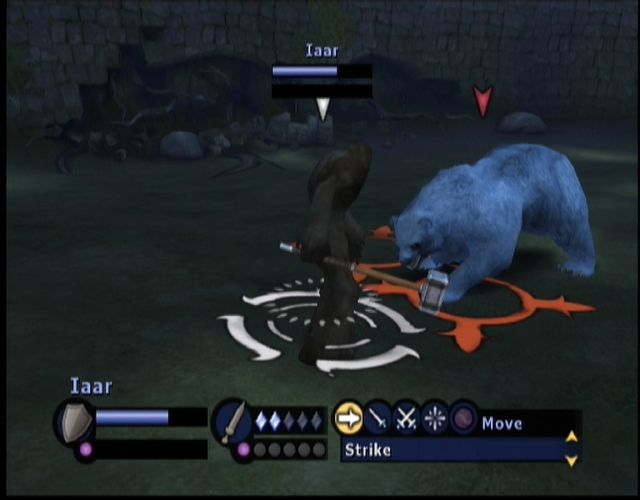 Gladius Xbox A yeti vs a big bear (The bear lost!)