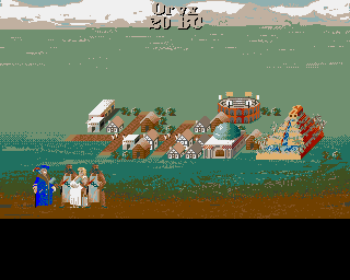 Sid Meier's Civilization Amiga City view