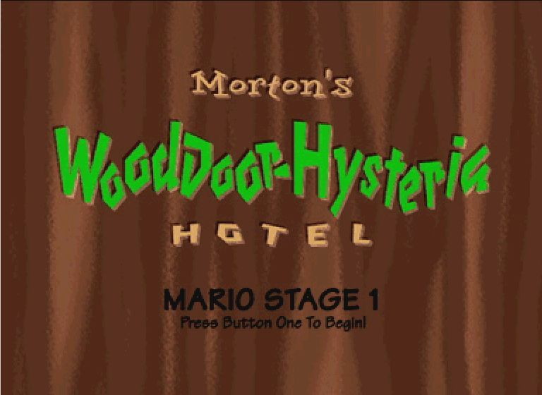 Hotel Mario CD-i Welcome to stage 1