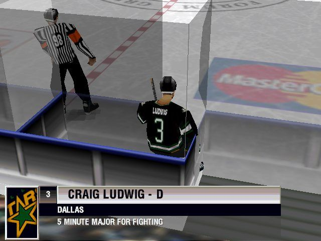 NHL 98 Windows And he's shown off.
